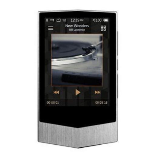 COWON(コウォン) PV-64G-SL ハイレゾ・デジタルオーディオプレーヤー(フローズンシルバー)64GBメモリ内蔵+外部メモリ対応 COWON PLENUE V
