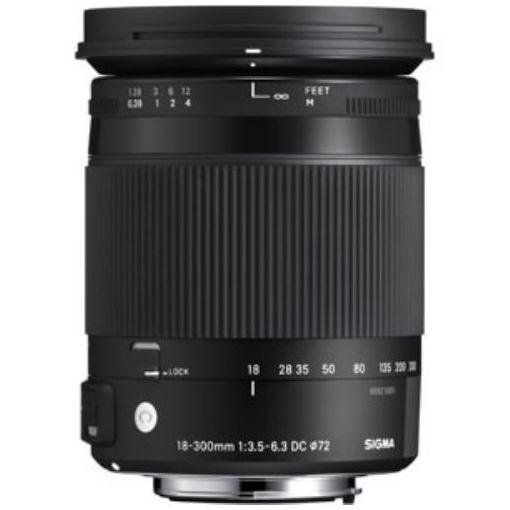 シグマ 交換用レンズ 18-300mm F3.5-6.3 DC MACRO OS HSM(シグマ用)