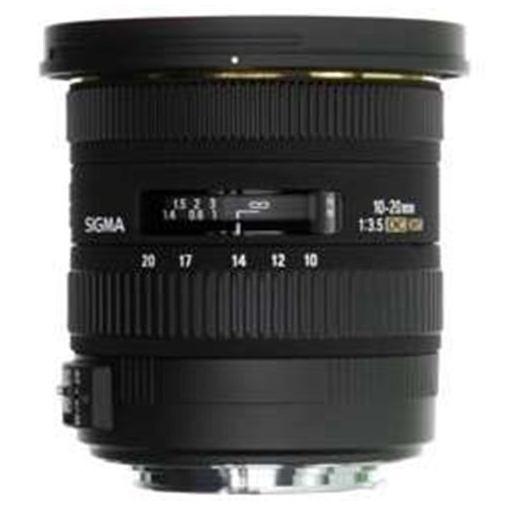 【ポイント10倍!】シグマ 交換レンズ 10-20mm F3.5 EX DC HSM (APS-C用キヤノンEFマウント)