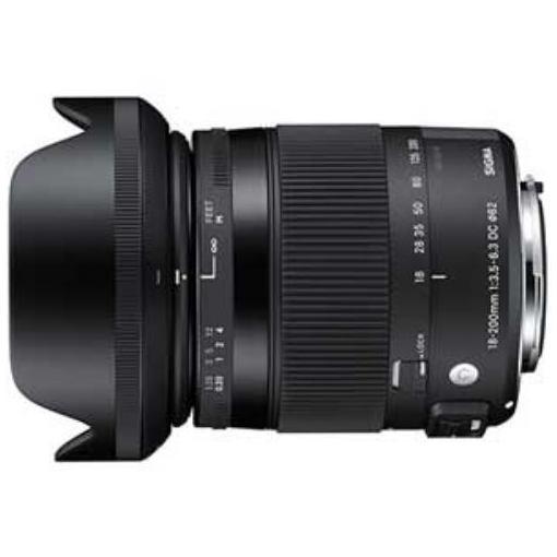 シグマ 交換用レンズ 18-200mm F3.5-6.3 DC MACRO OS HSM 【ニコンマウント】