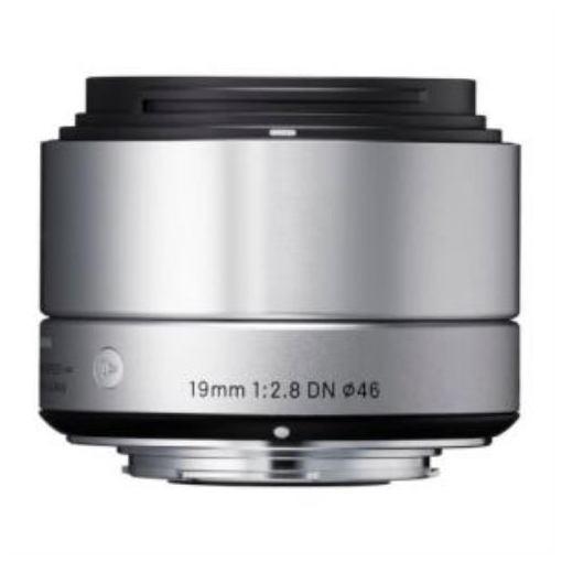 交換用レンズ SIGMA A 19mm F2.8 DN (ソニーE用) シルバー