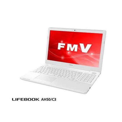 富士通 FMVA50C3WP ノートパソコン FMV LIFEBOOK AH50/C3 プレミアムホワイト
