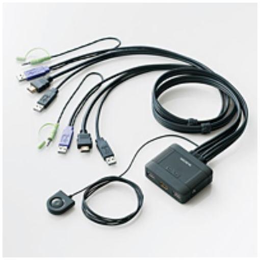 2020春夏新作 出群 エレコム KVM-HDHDU2 HDMI対応パソコン切替器