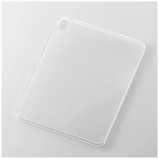 エレコム TB-A18MUCCR iPad Pro 11インチ 2018年モデル用ソフトケース クリア