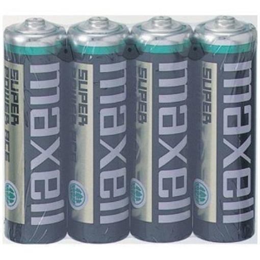 マクセル マンガン乾電池単3型 4本パック 大好評です R-6PUBN-4P Black 激安卸販売新品 maxell