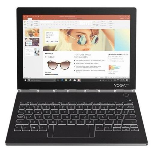【ポイント10倍!4/22(月)20:00~4/26(金)01:59まで】Lenovo ZA3S0141JP タブレット Yoga Book C930 アイアングレー