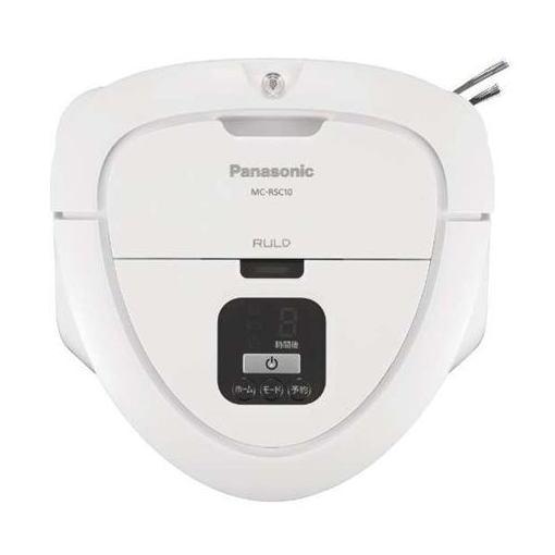 【ポイント10倍!】パナソニック MC-RSC10-W ロボット掃除機 RULO mini(ルーロ ミニ) ホワイト