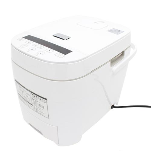 ヒロコーポレーション HTC-001WH 糖質カット炊飯器 5合炊き ホワイト