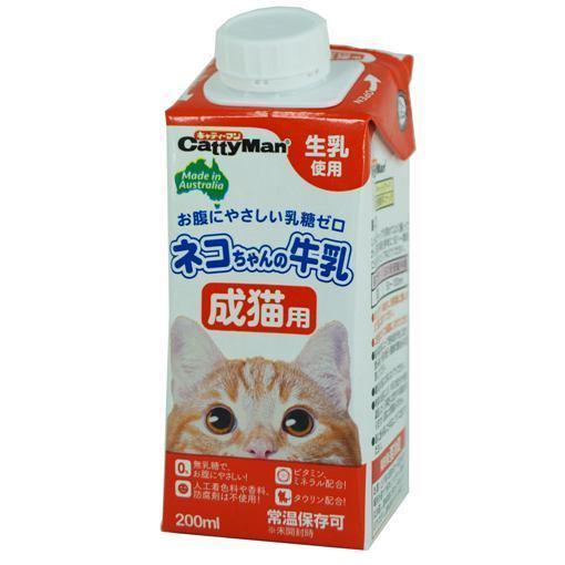 爆買い送料無料 ドギーマンハヤシ 手数料無料 ネコちゃんの牛乳成猫用 200ml