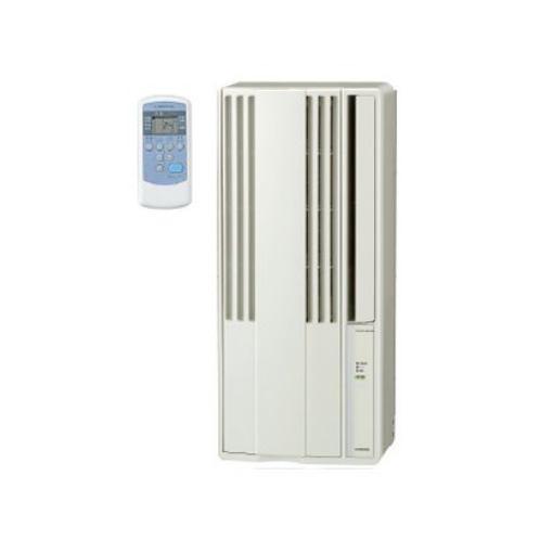 コロナ CW-F1819-W 窓用エアコン(冷房専用・4.5~8畳用) シティホワイト