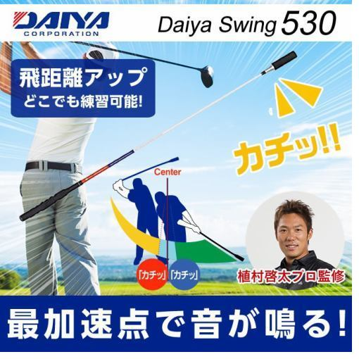 ダイヤ DAIYA ゴルフ 練習用 練習器具 スイング練習器 ツアースイング530 TR-530