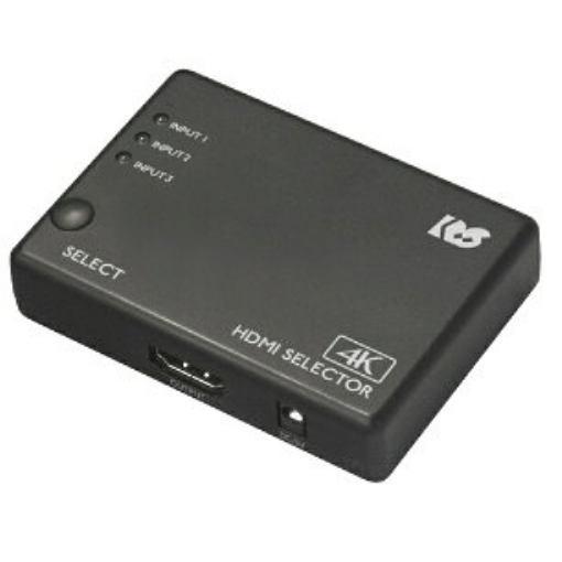 激安 激安特価 お得クーポン発行中 送料無料 ラトックシステム RS-HDSW31-4K 4K60Hz対応 HDMI切替器 3入力1出力