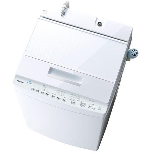 【無料長期保証】東芝 AW-7D7(W) 全自動洗濯機 (7.0kg) 「ZABOON(ザブーン)」 グランホワイト