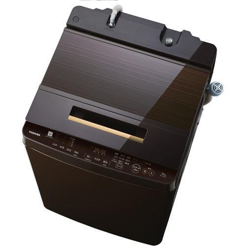 東芝 AW-10SD7(T) 全自動洗濯機 (10.0kg) 「ZABOON(ザブーン)」 グレインブラウン