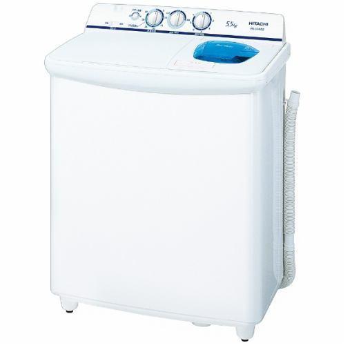 日立 PS-55AS2-W 2槽式洗濯機 「青空」(洗濯5.5kg)ホワイト