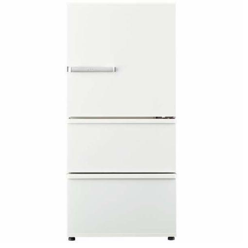 【無料長期保証】AQUA AQR-SV24H-W 3ドア冷蔵庫 (238L・右開き) アンティークホワイト