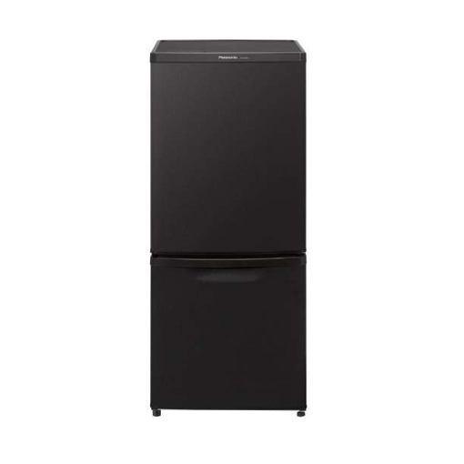 パナソニック NR-B14BW-T 2ドア冷蔵庫(138L・右開き) マットビターブラウン