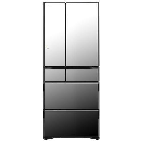 【無料長期保証】日立 R-WX62K-X 6ドア冷蔵庫(615L・フレンチドア) クリスタルミラー
