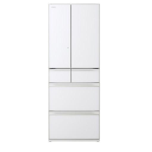 【ポイント10倍!】【無料長期保証】日立 R-KW57K-XW 6ドア冷蔵庫(567L・フレンチドア) クリスタルホワイト