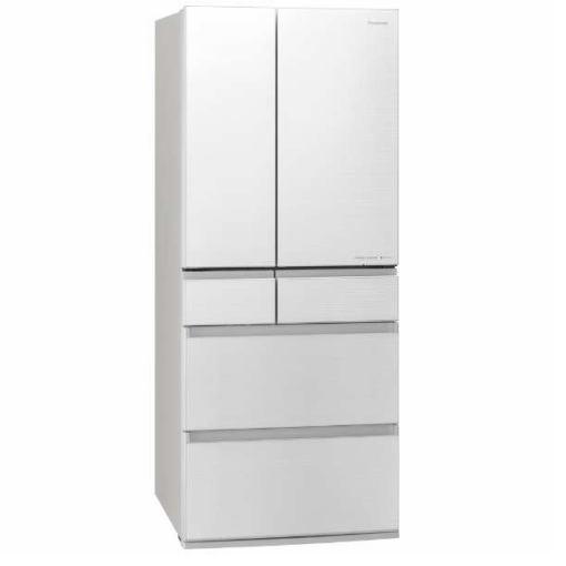 【無料長期保証】パナソニック NR-F655WPX-W 6ドア冷蔵庫 (650L・フレンチドア) フロスティロイヤルホワイト