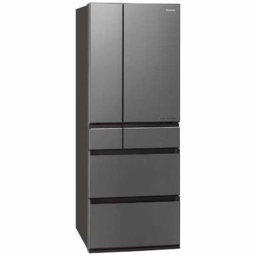 【ポイント10倍!】【無料長期保証】パナソニック NR-F605WPX-H 6ドア冷蔵庫 (600L・フレンチドア) ミスティスチールグレー(フロスト加工)