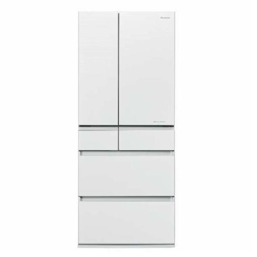 【無料長期保証】パナソニック NR-F654HPX-W 6ドア冷蔵庫(650L・フレンチドア) マチュアホワイト