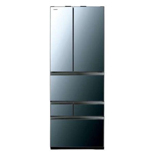 【無料長期保証】東芝 GR-R550FZ(XK) VEGETA(ベジータ) 6ドア冷蔵庫(551L・フレンチドア) クリアミラー
