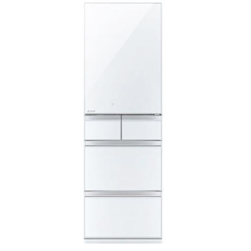 三菱 MR-MB45E-W 5ドア冷蔵庫(451L・右開き) MBシリーズ クリスタルピュアホワイト