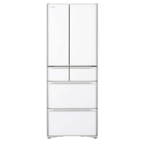 【無料長期保証】日立 R-XG51J-XW 6ドア冷蔵庫(505L・フレンチドア) クリスタルホワイト