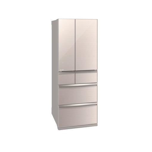 三菱 MR-WX60D-F 6ドア冷蔵庫(600L・フレンチドア) クリスタルフローラル