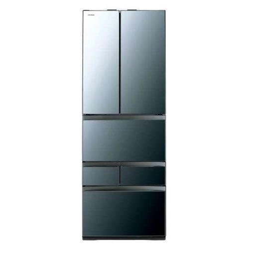 【無料長期保証】東芝 GR-R460FZ(XK) VEGETA(ベジータ) 6ドア冷蔵庫(461L・フレンチドア) クリアミラー