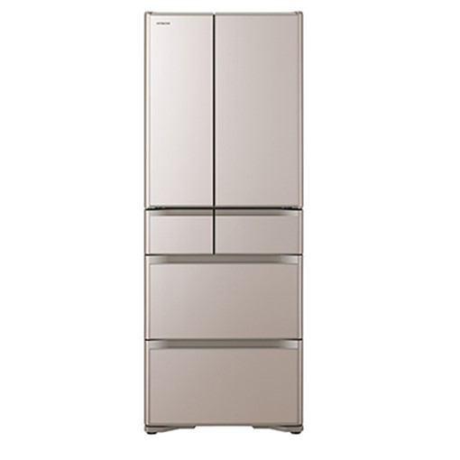 【無料長期保証】日立 R-XG48J-XN 6ドア冷蔵庫(475L・フレンチドア) クリスタルシャンパン
