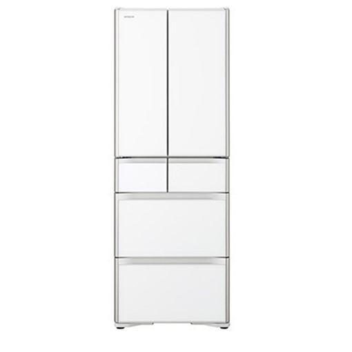 【無料長期保証】日立 R-XG48J-XW 6ドア冷蔵庫(475L・フレンチドア) クリスタルホワイト