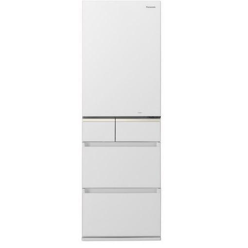【無料長期保証】パナソニック NR-E414GV-W 5ドアパーシャル搭載冷蔵庫(406L スノーホワイト・右開き) NR-E414GV-W スノーホワイト, あさひやまストアー:6f285f74 --- officewill.xsrv.jp