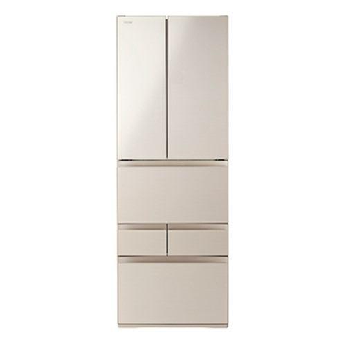 【無料長期保証】東芝 GR-R460FH(EC) VEGETA 6ドア冷蔵庫 (462L・フレンチドア) サテンゴールド
