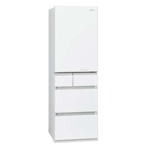 【無料長期保証】パナソニック NR-E454PX-W NR-E454PX-W 5ドアパーシャル搭載冷蔵庫(450L・右開き) スノーホワイト, Fairy Cotton:0b5684a4 --- officewill.xsrv.jp