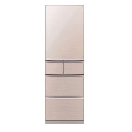 【ポイント10倍!】【無料長期保証】三菱 MR-B46DL-F 5ドア冷蔵庫(455L・左開き) クリスタルフローラル