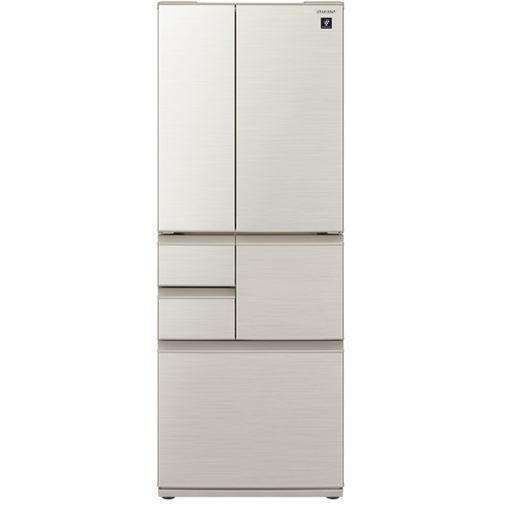 【無料長期保証】シャープ SJ-F502E-S 6ドア冷蔵庫(502L SJ-F502E-S・フレンチドア) シルバー系, ヨドガワク:efd1df3f --- officewill.xsrv.jp