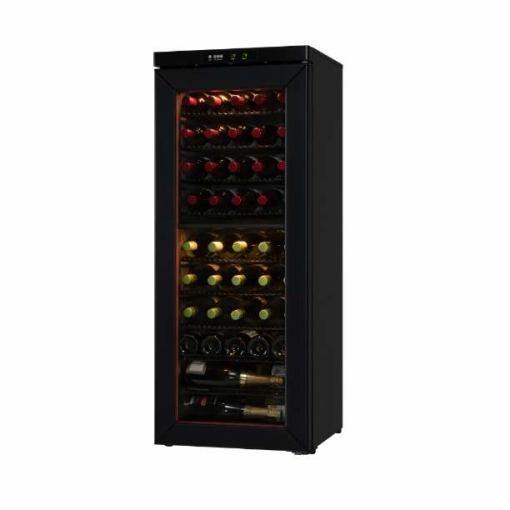 【無料長期保証】さくら製作所 SS46 二温度管理式 ワインセラー 46本収納 ブラック