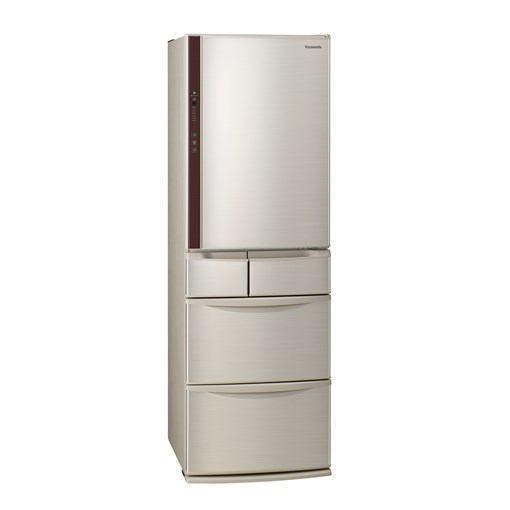 【無料長期保証】パナソニック NR-E414VL-N 5ドア冷蔵庫(406L・左開き) シャンパン