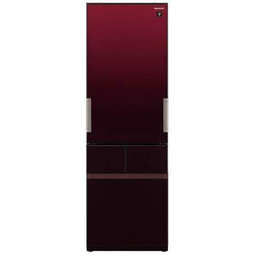【ポイント10倍!】【無料長期保証】シャープ SJ-GT42E-R 4ドア冷蔵庫(415L・どっちもドア) グラデーションレッド