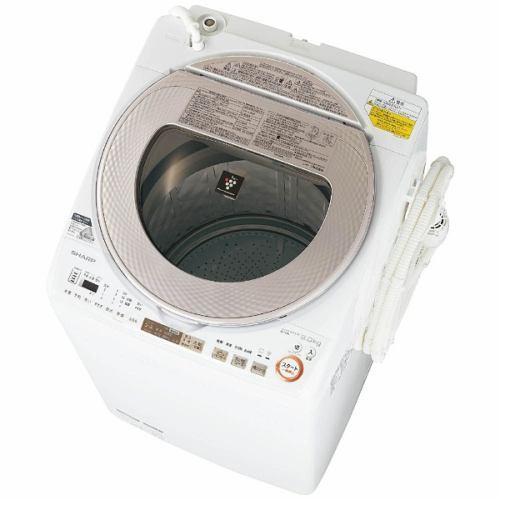 【ポイント10倍!】シャープ ES-TX9A-N 洗濯乾燥機 (洗濯9.0kg/乾燥4.5kg) ゴールド系
