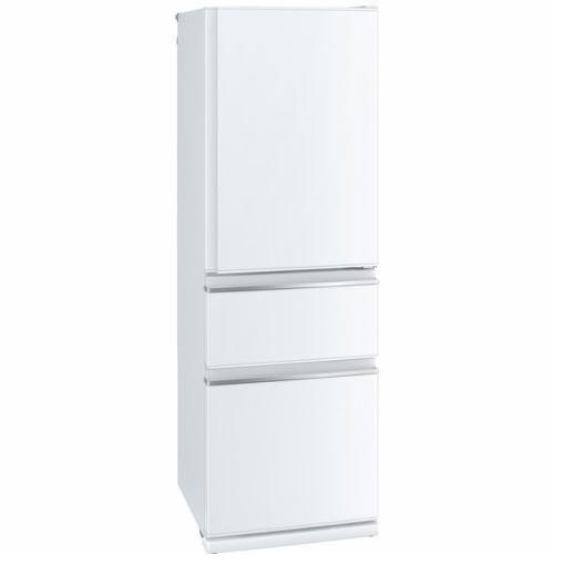 【無料長期保証】三菱 MR-CX37D-W 3ドア冷蔵庫 CXシリーズ (365L・右開き) パールホワイト