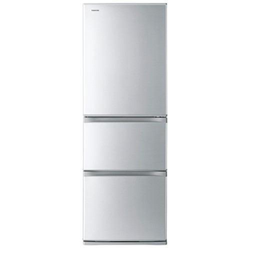 【無料長期保証】東芝 GR-R36S VEGETA 3ドア冷蔵庫 (363L・右開き) シルバー
