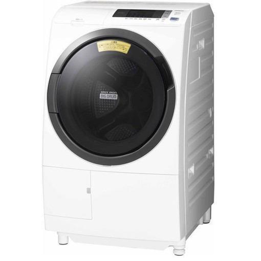 【無料長期保証】日立 BD-SG100CL ドラム式洗濯乾燥機 (洗濯10.0kg /乾燥6.0kg ・左開き) ホワイト