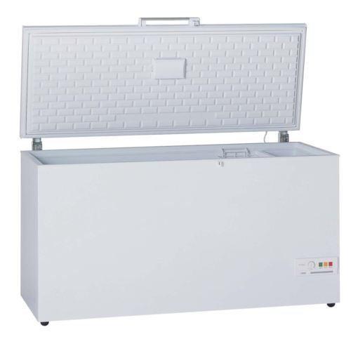 【無料長期保証】三ツ星貿易 MV-6464 上開き式冷凍庫 464L ホワイト