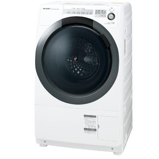 【無料長期保証】シャープ ES-S7C-WL ドラム式洗濯乾燥機(洗濯7.0kg/乾燥3.5kg・左開き) ホワイト系