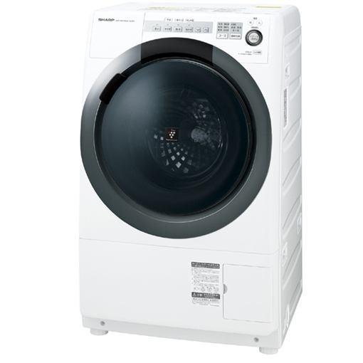 【無料長期保証】シャープ ES-S7C-WR ドラム式洗濯乾燥機(洗濯7.0kg/乾燥3.5kg・右開き) ホワイト系