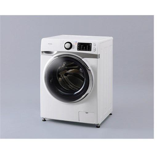 【無料長期保証】アイリスオーヤマ AD7W/S ドラム式洗濯機 (左開き・7.5kg) ホワイト/シルバー