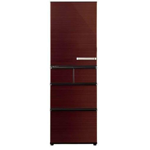 【無料長期保証】AQUA AQR-SV42HL(T) 5ドア冷蔵庫(415L・左開き) グロスブラウン